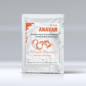 Anavar 10mg Dragon Pharma